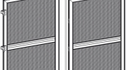 moskitiera drzwiowa profil MD 1